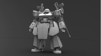 Picture of Fist of War Mech setting draft 6